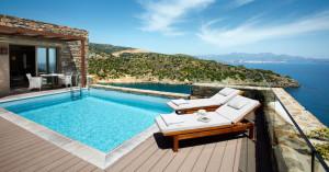 Zwembad met geweldig uitzicht